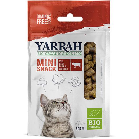 Yarrah Био котешко лакомство мини закуска