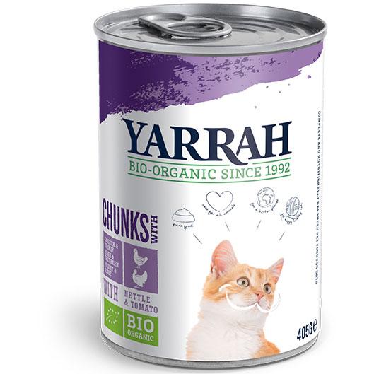 Yarrah Био котешка храна хапки