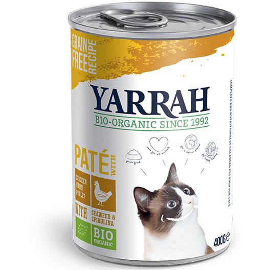Yarrah Био котешки пастет