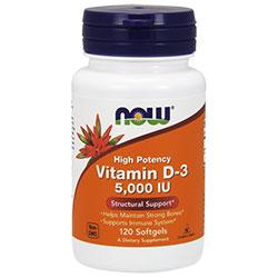 NOW Foods Витамин D-3