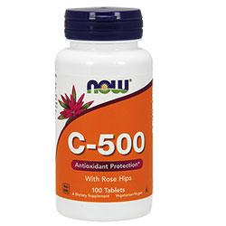NOW Foods Витамин C-500