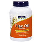 NOW Foods NOW Foods Flax Seed Oil (organic)