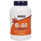 NOW Foods NOW Foods Витамин B-50
