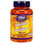 NOW Foods Arginine/ornithine