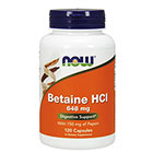 NOW Foods NOW Foods Betaine HCL