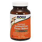 NOW Foods Stabilized Acidophilus Three Billion