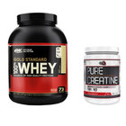 100% Whey Gold Standard + Pure Creatine