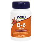 NOW Foods NOW Foods Витамин B6
